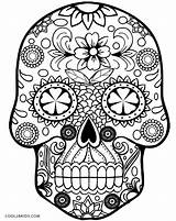 Coloring Sugar Pages Skulls Candy Skull Star Wars Unicorn Popular sketch template