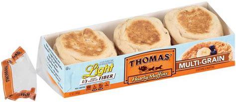 thomas 39 light english muffins multigrain hy vee aisles