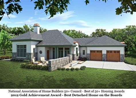 award winning aging  place house plans homesmsp
