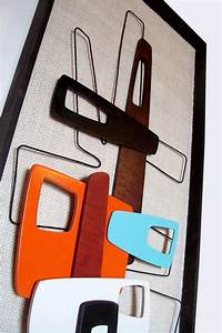 best 25 modern art deco ideas on pinterest art deco With best brand of paint for kitchen cabinets with mid century modern wall art sculpture