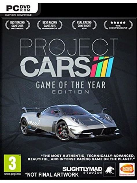 project cars of the year игра project cars of the year edition goty edition