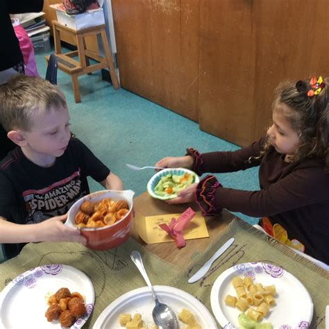 nice table manners st joseph school