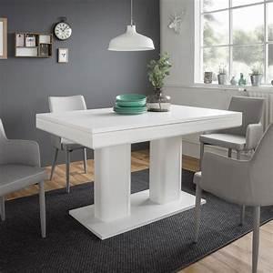 Tisch Ausziehbar Weiß : esstisch heidelberg tisch wei ausziehbar 140 220x90 cm ebay ~ Whattoseeinmadrid.com Haus und Dekorationen