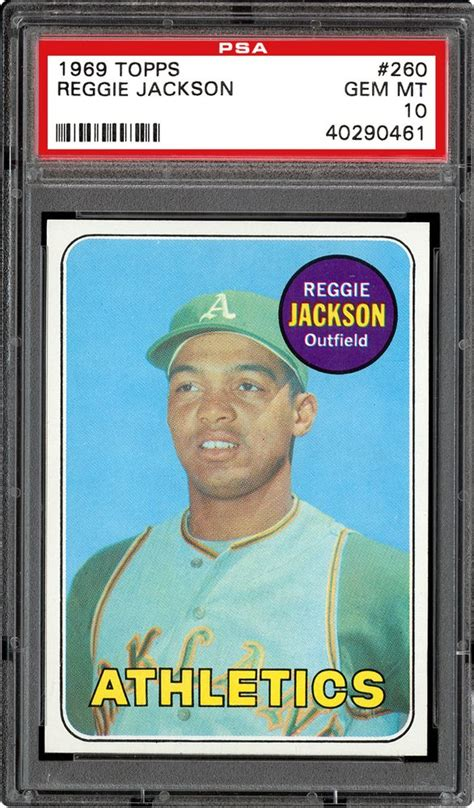 A collectible baseball card is worth what a willing buyer will pay to a willing seller. 1969 Topps Baseball Cards - PSA SMR Price Guide