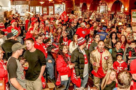 sf 49ers fan store 49ers fans make strong showing in seattle prior to