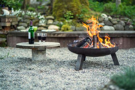 Feuerschale Mobiles Lagerfeuer Fuer Die Terrasse by Feuerschale Oder Feuerkorb Was Ist Besser