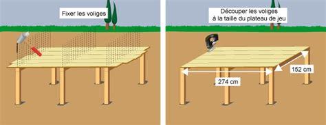 comment faire une table de ping pong comment fabriquer une table de ping pong pour l ext 233 rieur