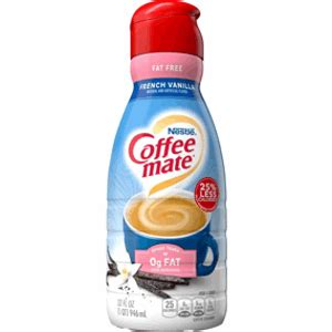 Perfect your coffee with sugar free french vanilla flavored creamer that's triple churned and 2x richer than milk. Is Coffee Mate Fat Free French Vanilla Coffee Creamer Keto? | Sure Keto - The Food Database For Keto