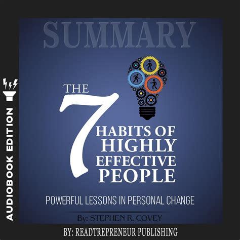 Resume 7 Habits by Summary Of The 7 Habits Of Highly Effective