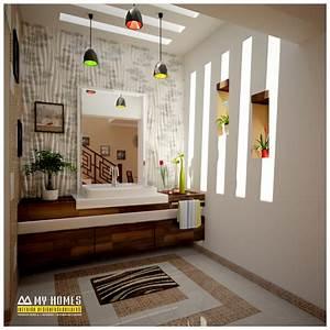 hand wash area design idea for home interior design in kerala