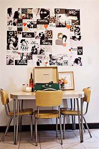 35 creative diy photo collage display ideas listinspiredcom for What kind of paint to use on kitchen cabinets for embroidery hoop wall art