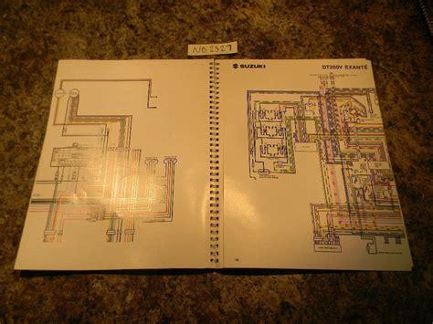 1990 suzuki outboard wiring diagrams 99954 53900 ebay