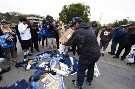 Angry Fan Burns Chargers Flag In Front Of Team's Sd