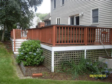 Deck Baluster Spacing Massachusetts by Decking Railing Replacement In Natick Ma