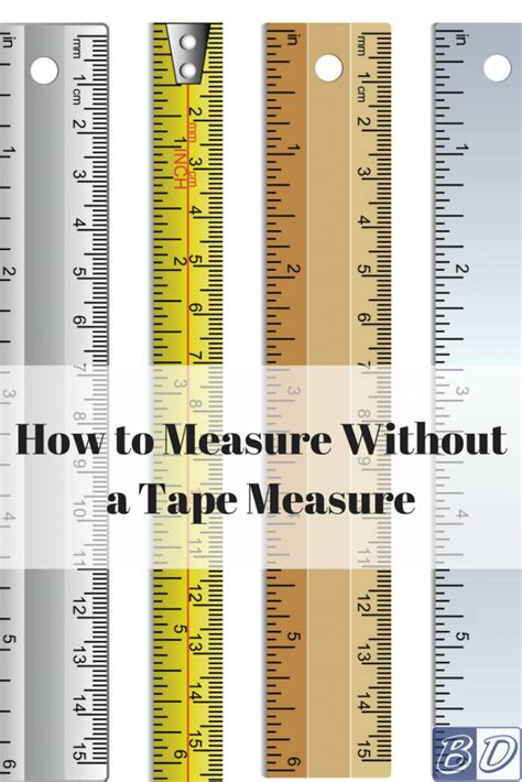 How To Measure Without A Tape Measure  Budget Dumpster