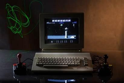Retro Commodore Computer 64 Joystick Games Gaming