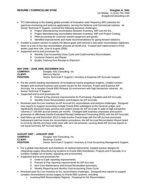 Executive Business Process Analyst Resume Template  Page 12