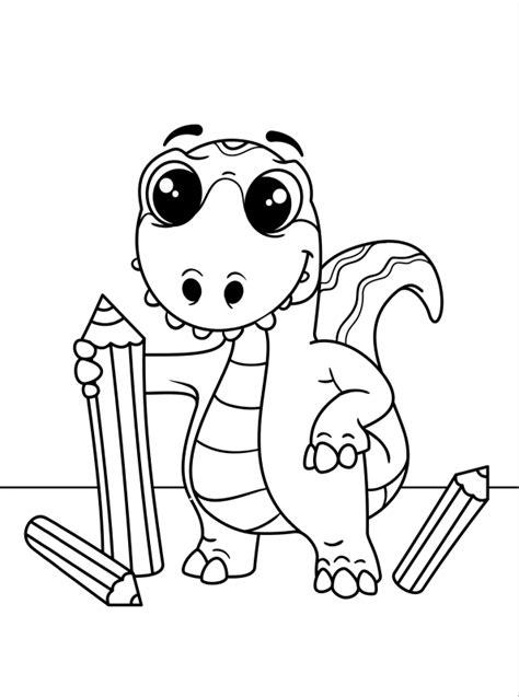 Malvorlage lego dino lego dinosaur coloring pages at getcolorings free. Kids-n-fun   Kleurplaat Dino kids dino en kleurpotloden