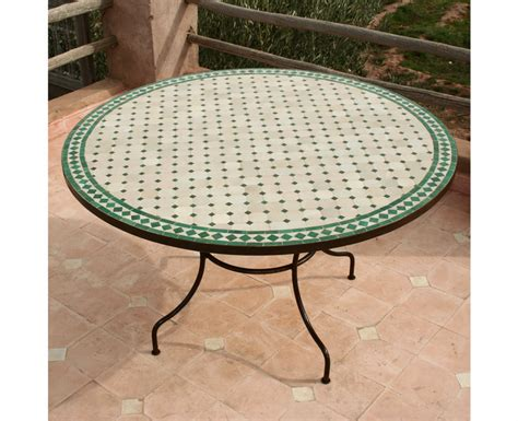 beautiful table de jardin mosaique marbre ideas