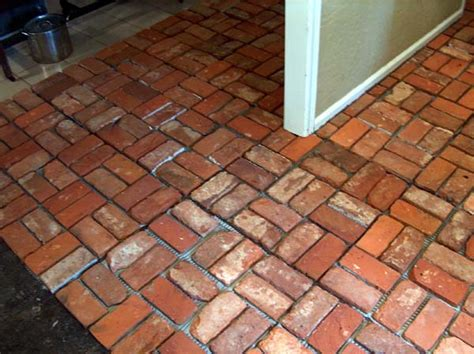 brick tile for floors 10 most common types of flooring used in india civilblog org