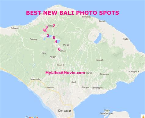 bali photo spots  didnt  existed  lifes