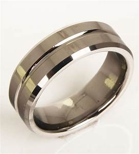 fashion tungsten ring men jewel matching wedding ring size With mens wedding ring size 10