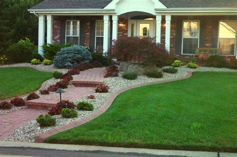 Residential Edging  Traditional  Landscape  St Louis