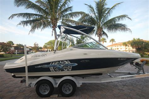 Used Boat Wholesale Values by Sea 210 Select Fission 2008 For Sale For 24 900
