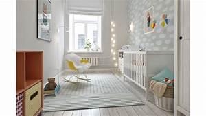 Chambre Gris Blanc : d coration d 39 une chambre pour b b en gris et blanc picslovin ~ Melissatoandfro.com Idées de Décoration