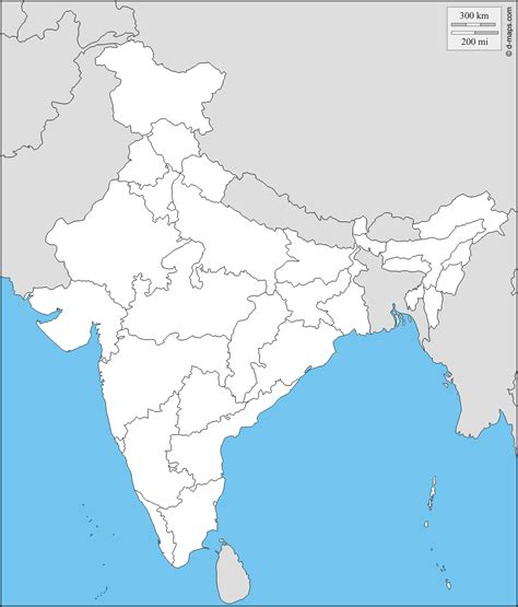 political map of india and great map resource social