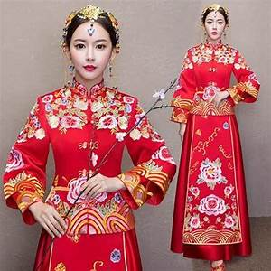 Popular Traditional Chinese Wedding Gown-Buy Cheap ...