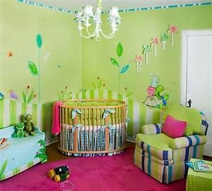 Farben Für Babyzimmer : babyzimmer tapeten 27 kreative und originelle ideen ~ Markanthonyermac.com Haus und Dekorationen