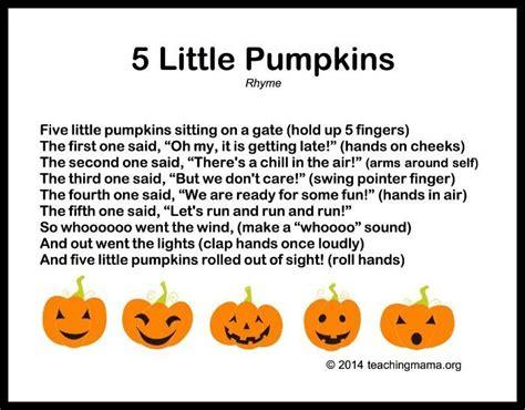 halloween preschool songs the 25 best finger plays ideas on preschool 310