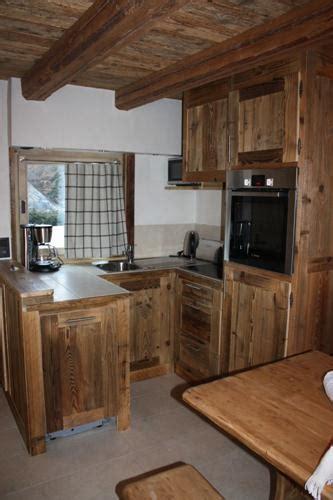 cuisine au bois au bois de montagne cuisine