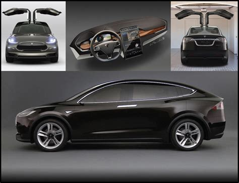 Future Tesla Models by Concepts Future Models Updates Rule The Day In Detroit