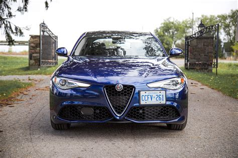 Alfa Romeo Sport by Review 2017 Alfa Romeo Giulia Ti Sport Canadian Auto Review