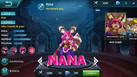 Mobile Legends Nana Gameplay Tutorial [pt-br]