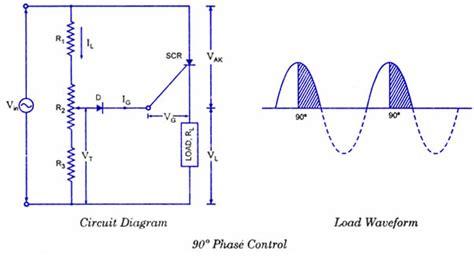 Scr Control Circuits Electronic Diagrams