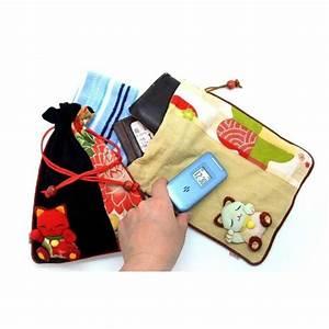 Pochette En Tissu : pochette en chirimen ~ Farleysfitness.com Idées de Décoration