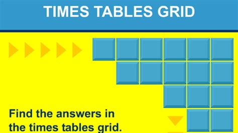 multiplication tables interactive games times tables grid game lessonpaths