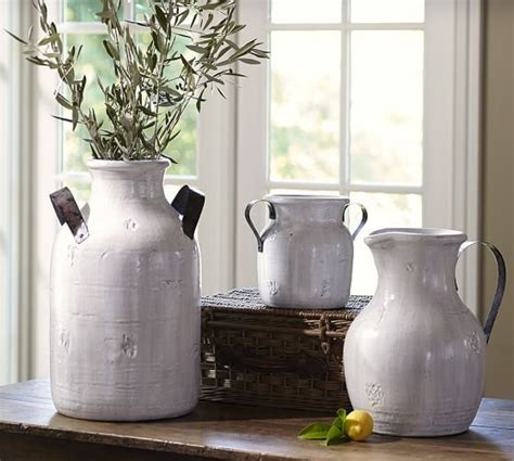 large urn  living room option marlowe ceramics white