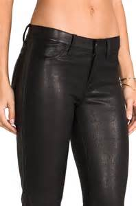 Studded Leather Pants Women