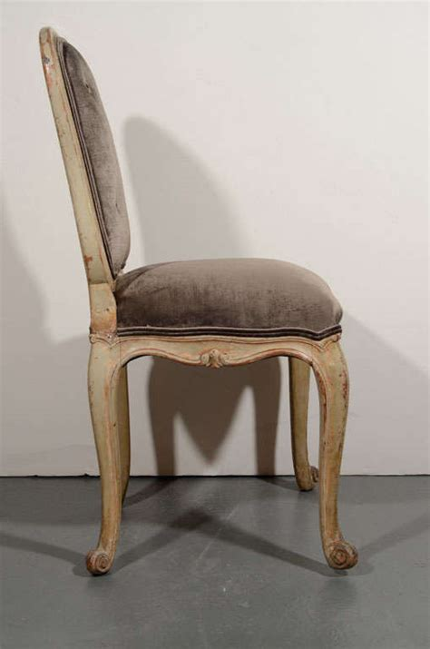 French Provincial Vanity Chair Or Desk Chair In Sable