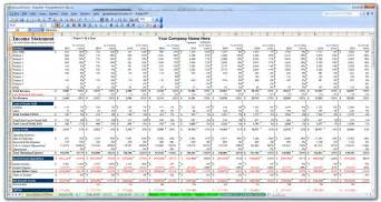 Financial Forecast Template Excel by Business Plan Financial Model Template Bizplanbuilder