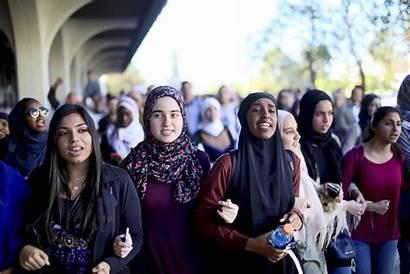 Muslim Islam Muslims Islamophobia Against University Americans