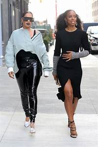 La La Anthony Kelly Rowland At NY Fashion Week Sandra Rose