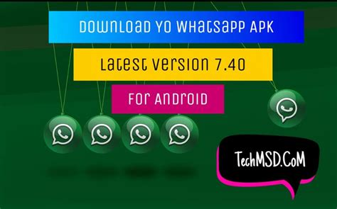 yo whatsapp apk version 7 40 for android 2018 updated