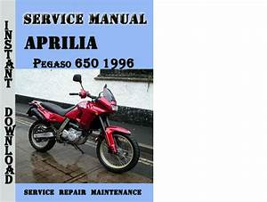 Aprilia Pegaso 650 1996 Service Repair Manual