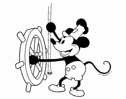 Steamboat Willie Disney Mickey Drawing Boat Mouse