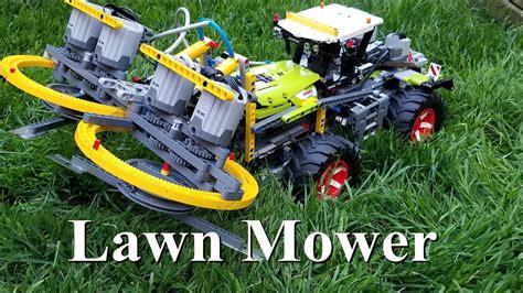 lawn mower lego technic  claas xerion  trac vc